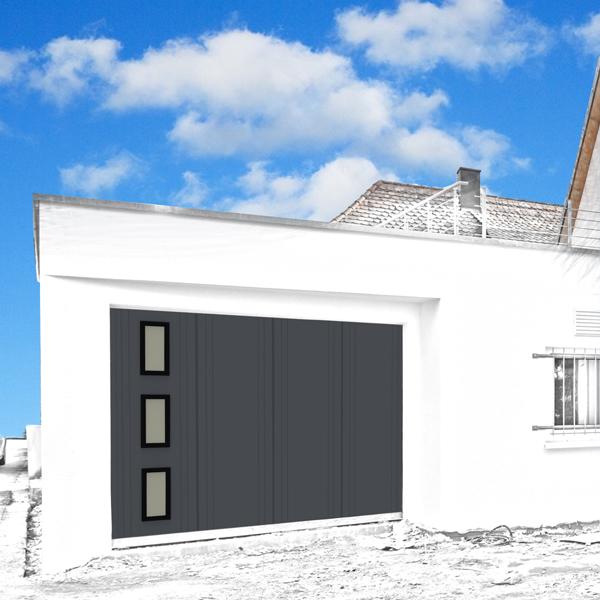 Exemple de design d'une porte de garage
